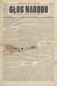 Głos Narodu. 1895, nr117