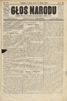 Głos Narodu. 1895, nr119