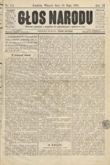 Głos Narodu. 1895, nr121