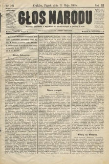 Głos Narodu. 1895, nr124