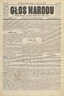 Głos Narodu. 1895, nr125