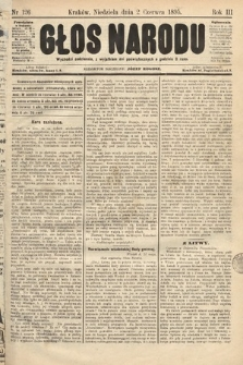 Głos Narodu. 1895, nr126