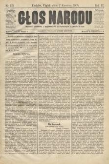 Głos Narodu. 1895, nr129