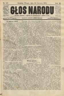 Głos Narodu. 1895, nr137