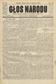 Głos Narodu. 1895, nr138