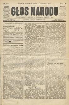 Głos Narodu. 1895, nr145