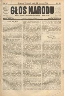 Głos Narodu. 1895, nr37