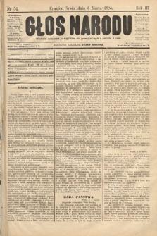 Głos Narodu. 1895, nr54
