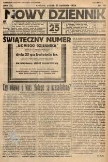 Nowy Dziennik. 1929, nr99
