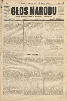 Głos Narodu. 1895, nr64