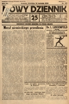 Nowy Dziennik. 1929, nr101