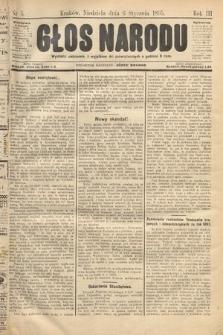 Głos Narodu. 1895, nr5