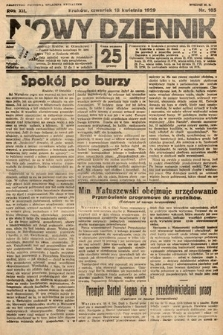 Nowy Dziennik. 1929, nr105