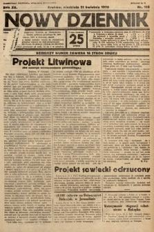 Nowy Dziennik. 1929, nr108