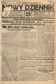 Nowy Dziennik. 1929, nr109