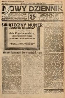 Nowy Dziennik. 1929, nr110