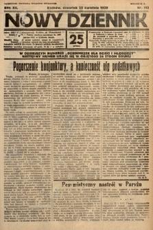 Nowy Dziennik. 1929, nr112
