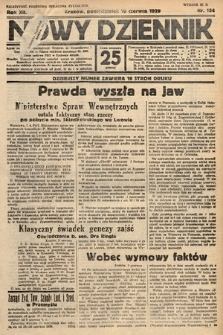 Nowy Dziennik. 1929, nr154