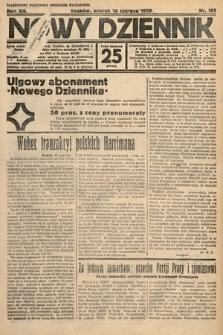 Nowy Dziennik. 1929, nr161