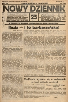 Nowy Dziennik. 1929, nr163