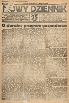 Nowy Dziennik. 1929, nr168