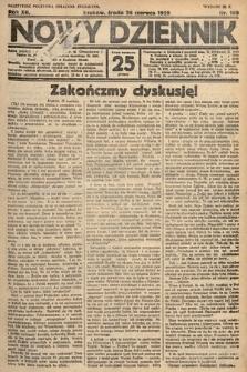 Nowy Dziennik. 1929, nr169