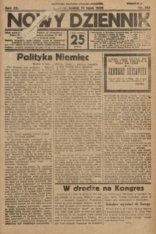 Nowy Dziennik. 1929, nr184