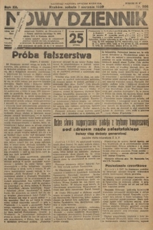 Nowy Dziennik. 1929, nr206