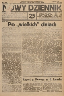 Nowy Dziennik. 1929, nr227