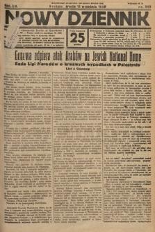 Nowy Dziennik. 1929, nr245