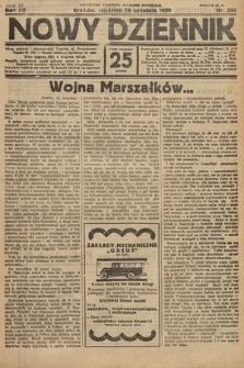 Nowy Dziennik. 1929, nr260