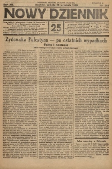 Nowy Dziennik. 1929, nr262