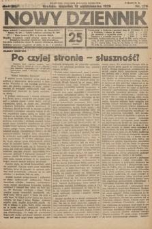 Nowy Dziennik. 1929, nr279