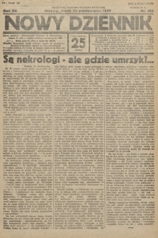 Nowy Dziennik. 1929, nr284