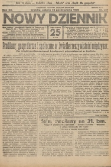 Nowy Dziennik. 1929, nr287