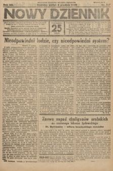 Nowy Dziennik. 1929, nr327