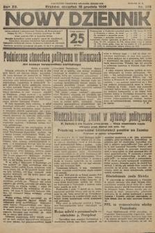 Nowy Dziennik. 1929, nr340