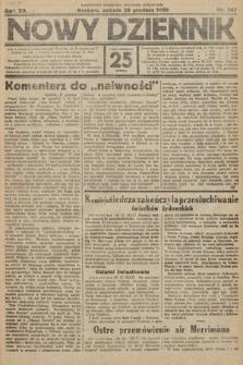 Nowy Dziennik. 1929, nr347