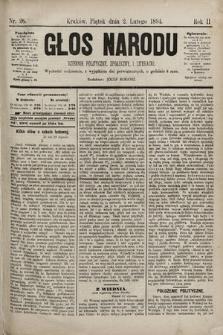Głos Narodu : dziennik polityczny, społeczny i literacki. 1894, nr26