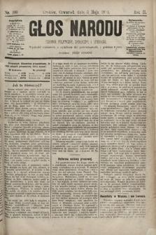Głos Narodu : dziennik polityczny, społeczny i literacki. 1894, nr100
