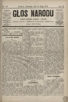 Głos Narodu : dziennik polityczny, społeczny i literacki. 1894, nr120