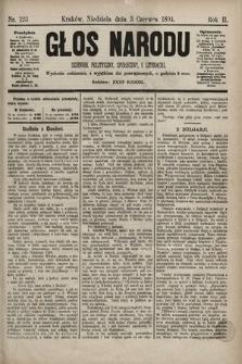 Głos Narodu : dziennik polityczny, społeczny i literacki. 1894, nr123