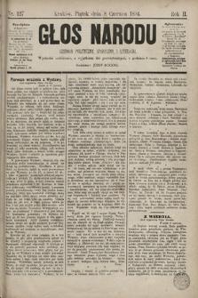Głos Narodu : dziennik polityczny, społeczny i literacki. 1894, nr127