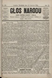 Głos Narodu : dziennik polityczny, społeczny i literacki. 1894, nr129