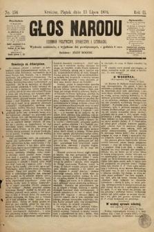 Głos Narodu : dziennik polityczny, społeczny i literacki. 1894, nr156