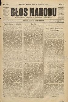 Głos Narodu. 1894, nr280