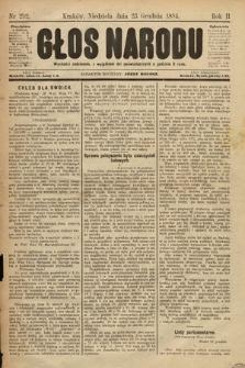 Głos Narodu. 1894, nr292