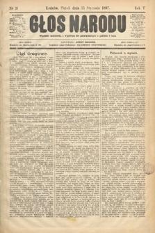 Głos Narodu. 1897, nr11