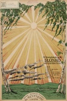 Słonko : pieśni do słów Adama Asnyka. Op. 49 [nr] 5, Siedzi ptaszek na drzewie