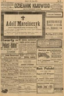 Dziennik Kijowski : pismo polityczne, społeczne i literackie. 1912, nr39